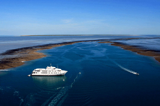 Küstenkreuzfahrt an der Kimberleyküste