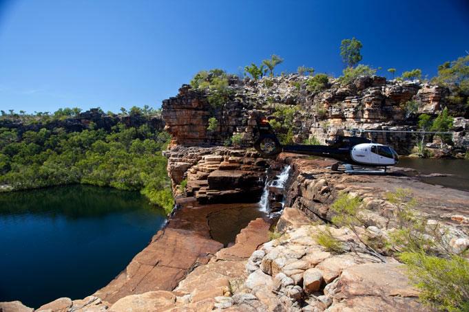 Western Australia eagle falls