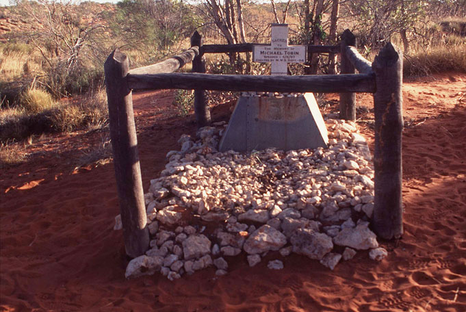 Canning Stock Route well 40 Tobis Grab