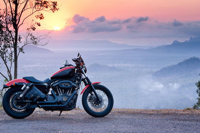 Motorbike Hervey Range