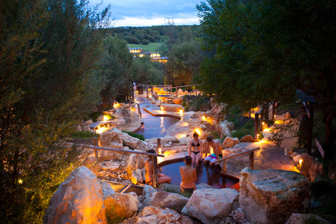 Die Hot Springs auf der Mornington Peninsula