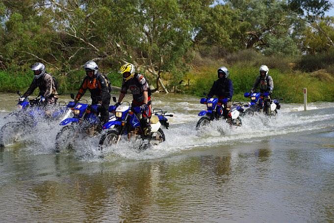 Mit dem Motorrad quer durch Australien