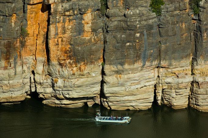 Windjana Gorge in den Kimberleys