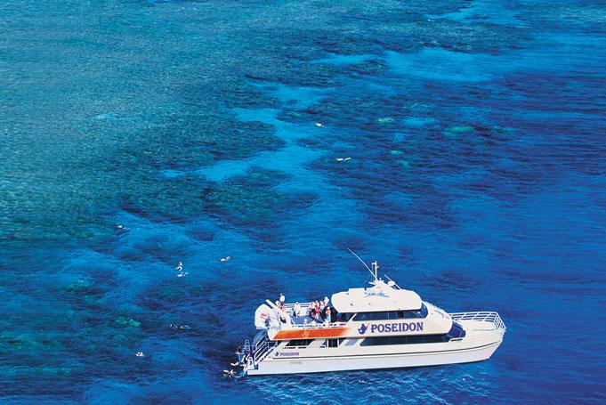 Mit max. 80 Personen zum Great Barrief Reef