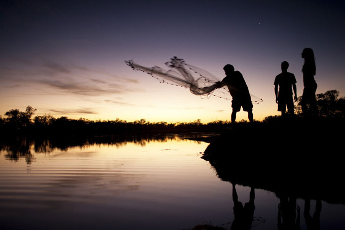 Aboriginal Fishing