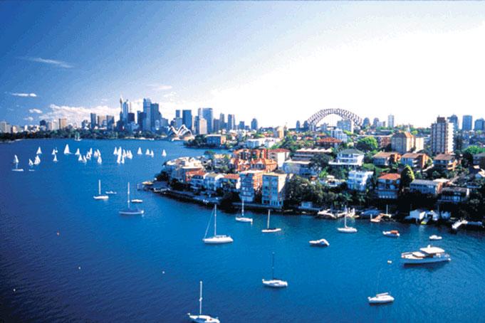 Sydney und der Naturhafen