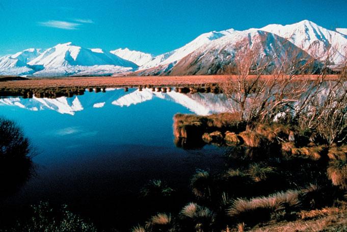 Neuseeland Reisen - Lake Heron