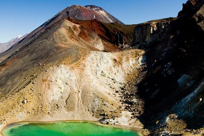 Neuseeland Reisen - Emerald Lakes Tongario Alpine