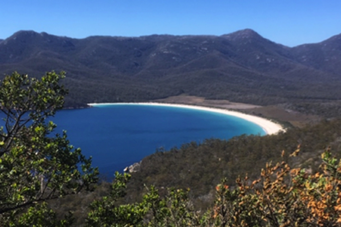 Wineglass Bay, Freycinet, Tasmanien